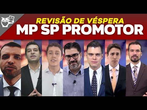 Revisão de Véspera: Concurso MP SP Promotor