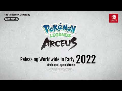 UK: Pokémon Legends Arceus: A familiar region. A new story.