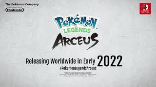 UK: <b>Pokémon</b> Legends Arceus: A familiar region. A new story ...