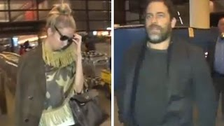 Brett Ratner Lands At LAX With A Shy Female Companion