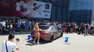 Pokaz Car Wash Auto Moto Show Sosnowiec 2018