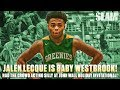 Jalen Lecque is Baby Westbrook! Had Crowd Acting Silly!
