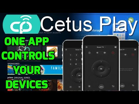Best Remote Controller App For  Firestick, Android Box, IOS, Smart | CetusPlay