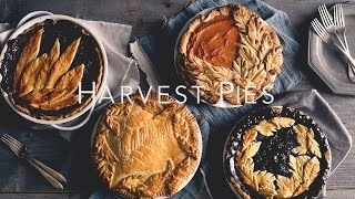 Havest Pie Leaf Crust Design Ideas