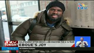 Galatasaray offer Emmanuel Eboue a job coaching the U -14 team