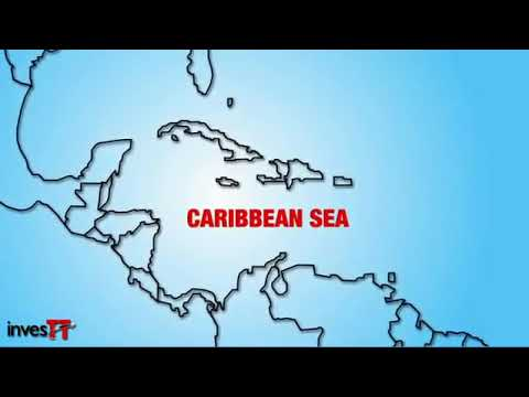 Trinidad and Tobago on the map