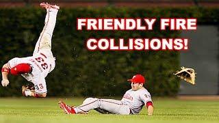 MLB   FRIENDLY FIRE! (COLLISIONS)   1080p HD