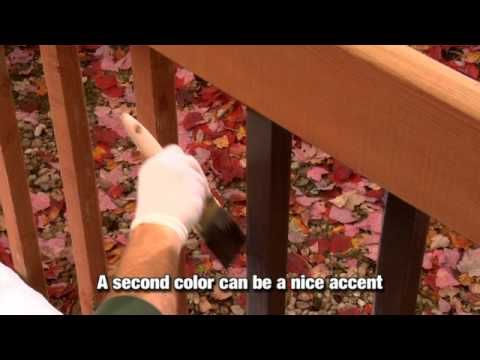 how to apply a solid color wood stain youtube. Black Bedroom Furniture Sets. Home Design Ideas