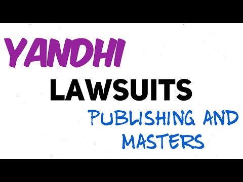A lawsuit's delaying Yandhi? Who is Kanye suing? Why? A lesson in masters and publishing Mp3