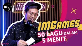 Indrakenz Pemecah Rekor Game Tebak Lagu!? | IMGames