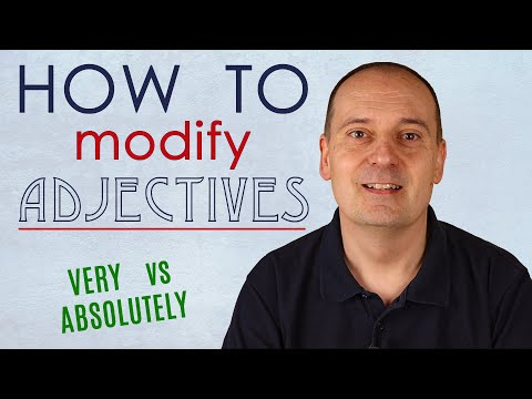 How to modify adjectives in English - gradable and non-gradable adjectives