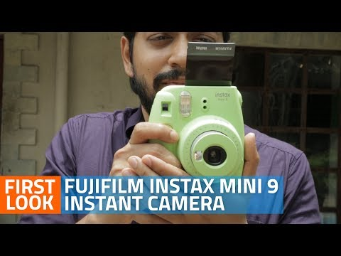 Fujifilm Instax Mini 9 Instant Camera Unboxing And First Look