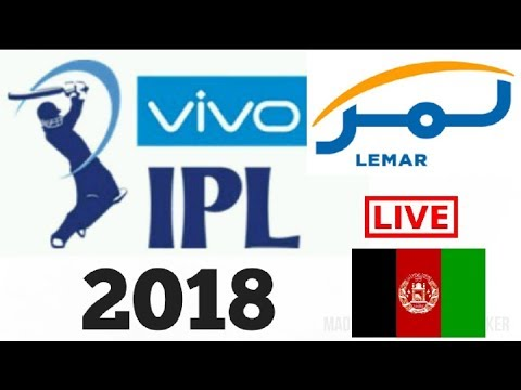 Lemar TV live streaming of All IPL 2018 in Afghanistan