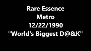 Rare Essence Metro Club 12/22/1990