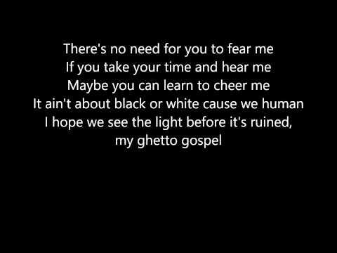 2Pac - Ghetto Gospel (Lyrics)