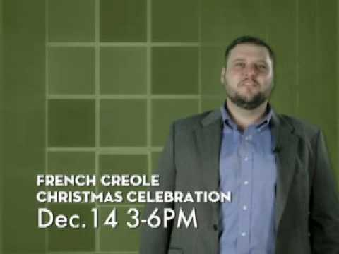 French Creole Christmas Celebration at Magnolia Mound Plantation