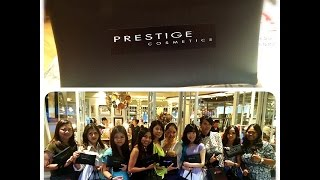 "FIRST IMPRESSION WITH ""PRESTIGE COSMETICS"""