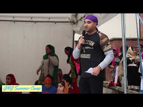 GNG Summer Camp 2017 - BBQ, Speech by Sarbjit Singh (Rajoana
