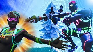 THE GLOW IN THE DARK SKIN IS OP - FORTNITE