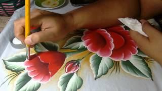 Pintando Lírios e arabesco com Lia Ribeiro