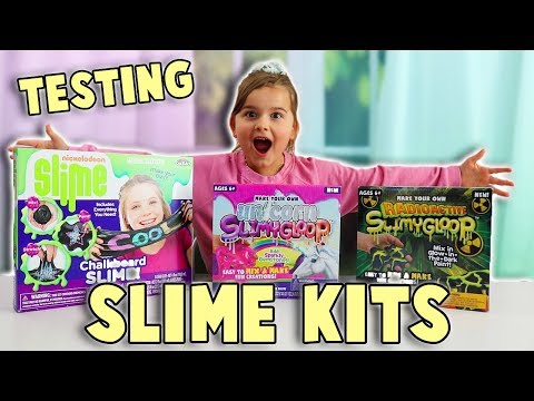TESTING SLIME KITS! | Is It WORTH It?!