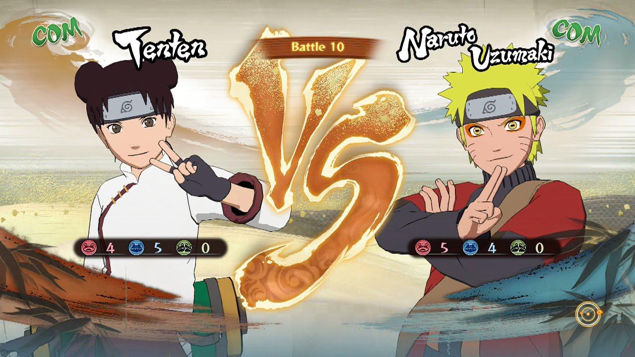 She also holds great respect for the strongest member of her team besides guy: Naruto Shippuden: Ultimate Ninja Storm 4, Tenten VS Naruto ...