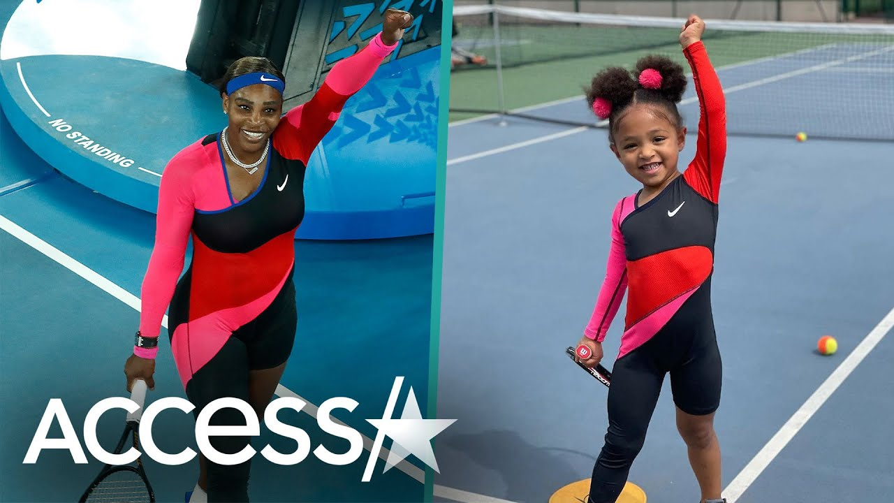 Serena Williams' Daughter Olympia Wears Mom's Australian Open Outfit