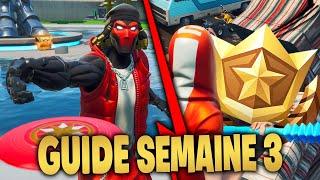 GUIDE COMPLET DES DÉFIS de la SEMAINE 3 SAISON 9 de FORTNITE Battle Royale