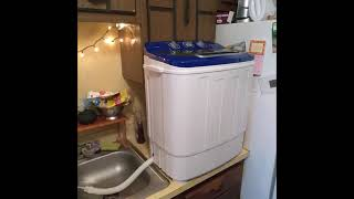 Best Choice Products Portable Compact Mini Twin Tub Washing Machine - Review