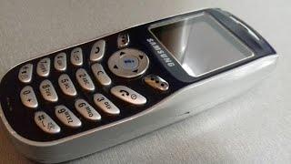 Обзор Samsung SGH X100 с необычной прошивкой .