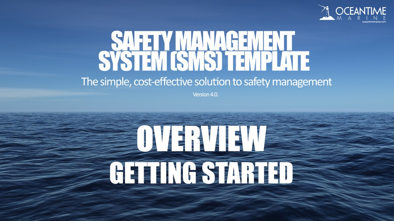 Safety Management System (SMS) Template - Overview Tutorial - YouTube
