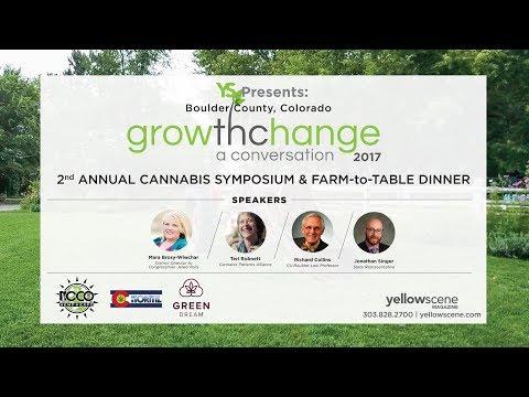 GrowthChange 2017 - Cannabis Symposium (Lyons, CO)
