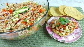 Ceviche de Soya - ¡Sencillo y Saludable! thumbnail