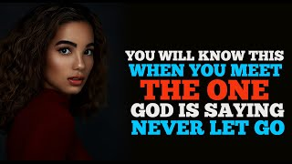 GOD IS TELLING YΟU THIS PERSON WILL LOVE YOU DON'T LET GO OF WHAT IS YOURS FOREVER