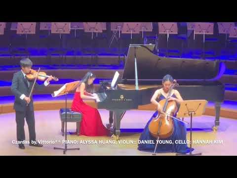 Czardas By V. Monti - Alyssa Huang, Daniel Young, Hannah Kim