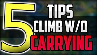 5 Tips to Avoid Feeding Teammates | How To Climb Ranked Elo Without Carrying Guide League of Legends