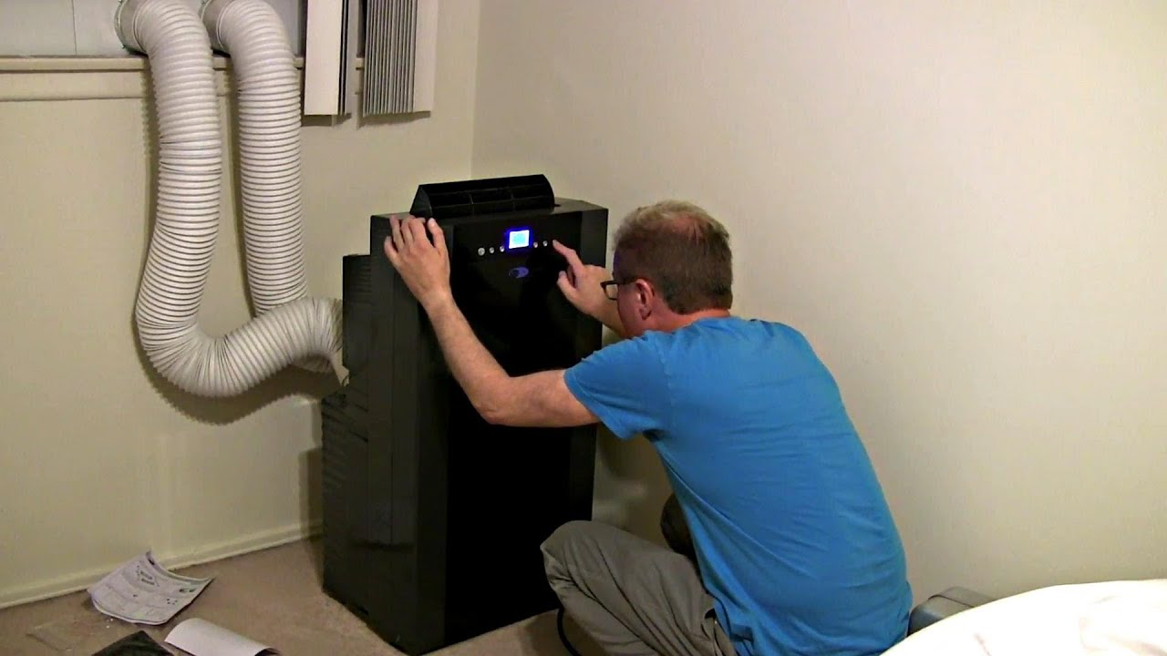 Installation Whynter Air Conditioner.   #1F4B75