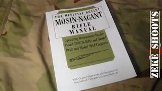 Zeke ShootsTHE OFFICIAL SOVIET MOSIN NAGANT RIFLE MANUAL Book review