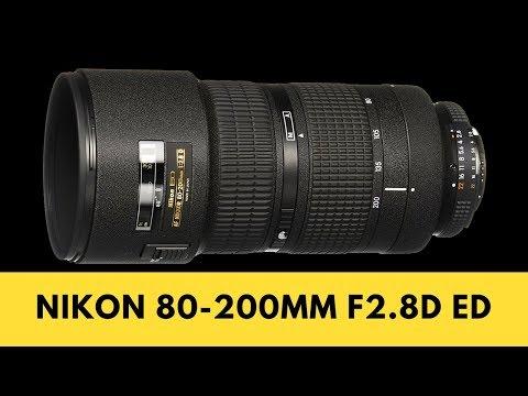 Nikon 80-200mm f2.8D ED - GOOD Choice for Nikon D750? (Don't NEED VR)