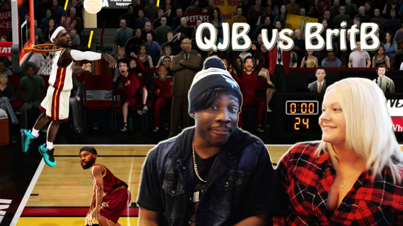 QJB vs BritB Ep. 1 - WILDEST FINISH EVER! She Cheesin With ...