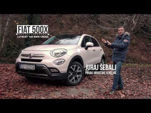Jel bolji od Renegadea? Fiat 500X 4x4 test by Juraj Šebalj