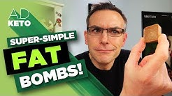 Simple Fat Bombs | Four ingredients | 0.5 Net Carbs
