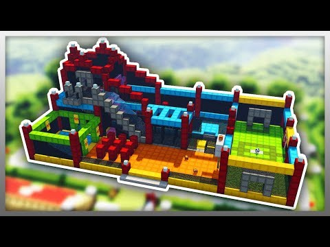 ✔️ BIGGEST BOUNCY CASTLE EVER in Minecraft!