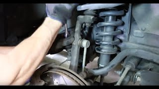 How to Replace Shocks and Struts in a Toyota Tacoma – 2013-2016