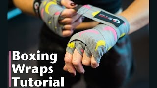 How To Use Boxing Hand Wraps - Tutorial