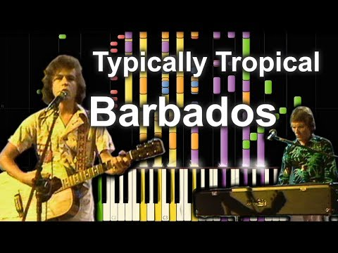 Typically Tropical - Barbados (1975) | Transcription (Synthesia)