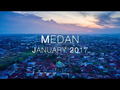 Medan City in 4K (HD) - DJI Mavic Pro