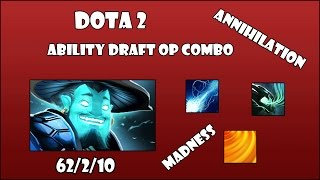 Aftershock, Essence Aura and Ball Lightning DotA 2 Best Ability Draft Combo