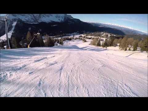 Pista da sci difficili, Carezza ski: pista Paolina