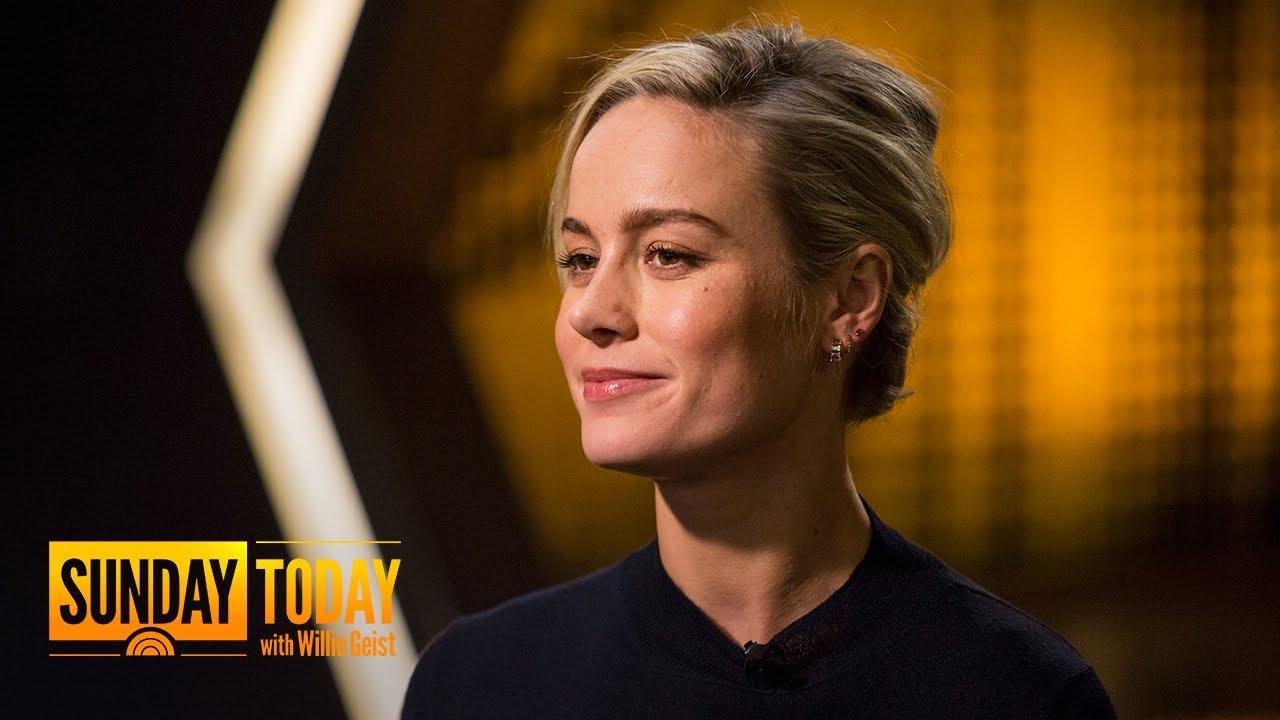 'Captain Marvel' Star Brie Larson Shares Intense Training For Superhero Role | Sunday TODAY